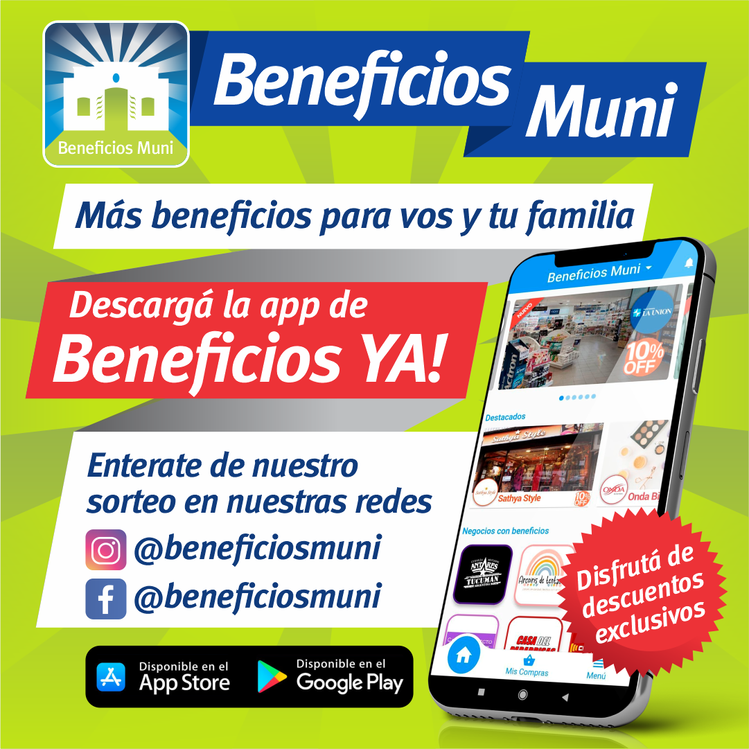Beneficios Ya!
